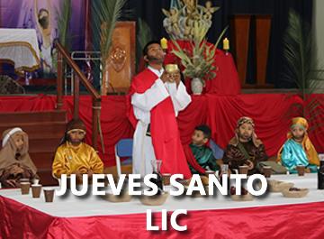 Jueves Santo LIC